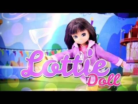 Unbox Daily: Lottie Doll English Country Garden - Doll Review PLUS Pandora the Persian Cat - 4K