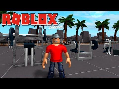 Roblox - GODENOT NA ACADEMIA ( Weight Lifting Simulator 2 )