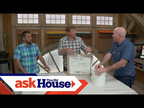 How to Whitewash Brick with Masonry Supplies | Ask This Old House
