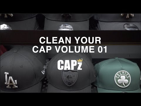 How To Clean Your Cap | Sweat Stains Removed For a Fresh Cap