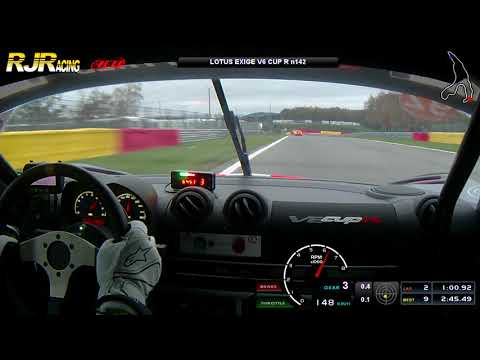Lotus On Track à Spa Francorchamps 14.11.2019