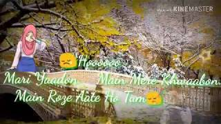 Meri Yaadon Mein Mere Khwabon Mein Roz Aate Ho Tum || Whatsupp Status Video