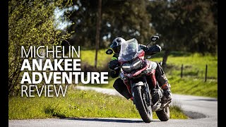 Michelin Anakee Adventure tyre analysis & review