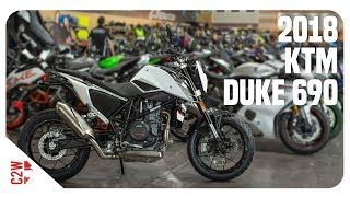2018 KTM Duke 690 | First Ride