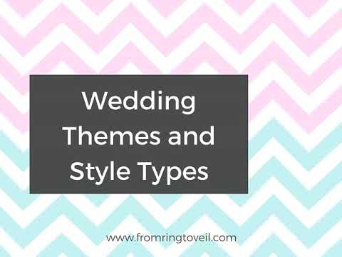 30 Wedding Themes And Style Types