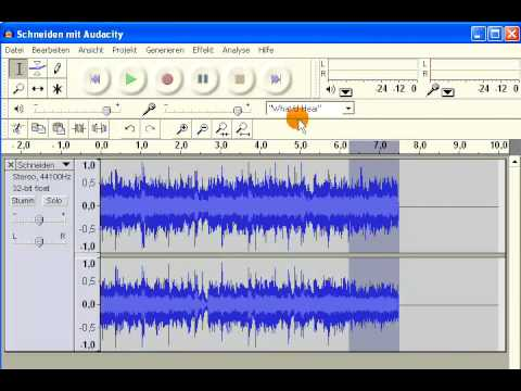 "Audacity Workshop ""Musik schneiden"" (German)"