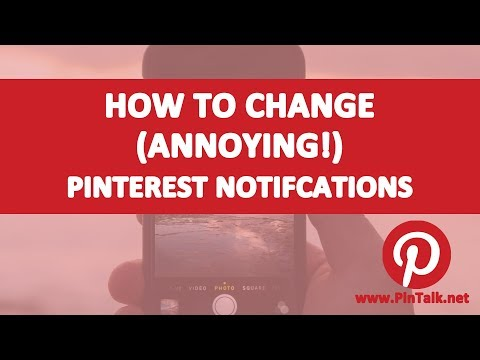 How to Change Pinterest Notification Settings