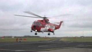 Irish Coast Guard Sikorsky 61 Take off @ Dublin Airport