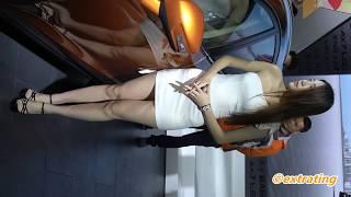 超薄白色包臀裙