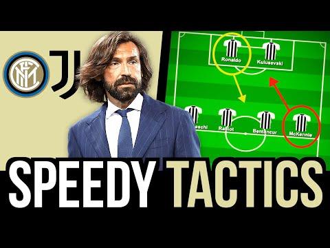 😳 FOLLIA IN FASE DI IMPOSTAZIONE | Juventus Inter 0-0 Speedy Tactics