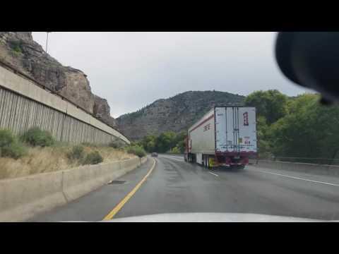 A drive from Aspen to Denver, Colorado.