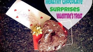 Healthy Valentines Day Chocolate Heart Surprise