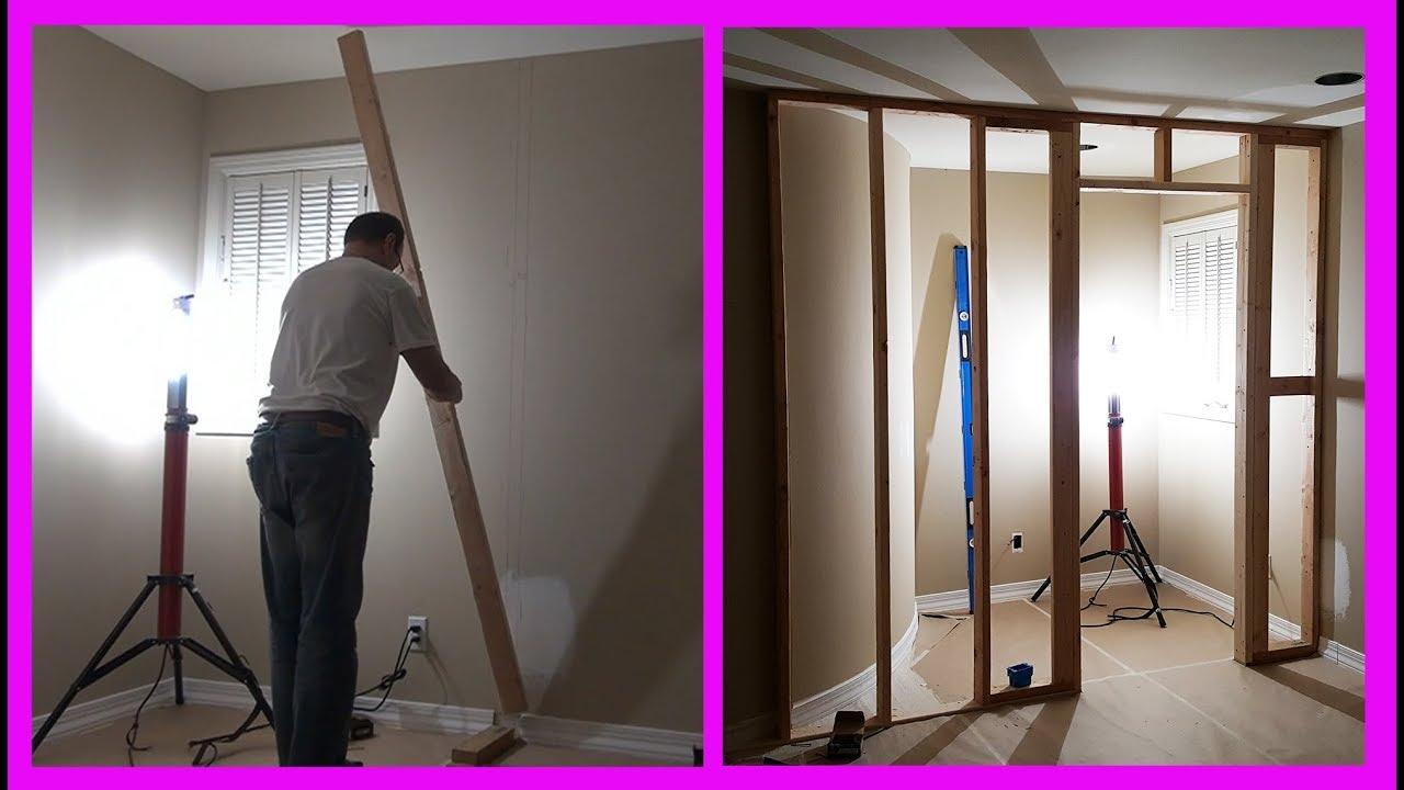 Download How to Build a Closet Frame in Bedroom. Part 2. Строим кладовку