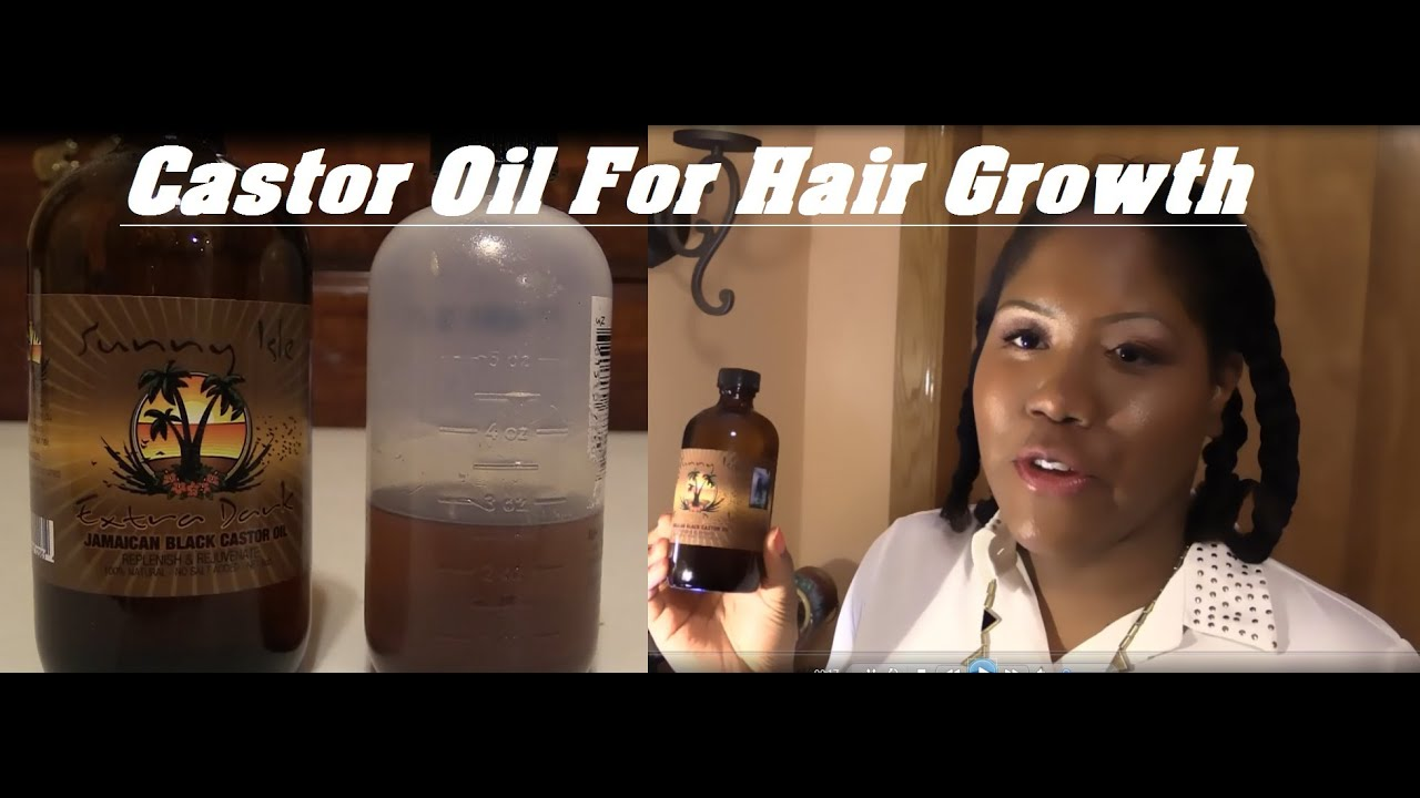 How To Apply Castor Oil To Your Scalp For Faster Hair