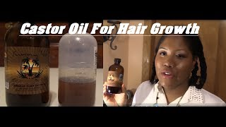 How To Apply Castor Oil To Your Scalp For Faster Hair Growth