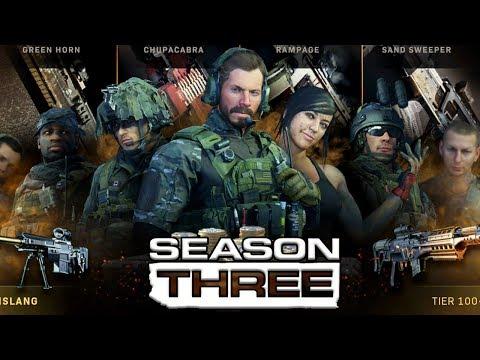 Modern Warfare: Everything In The Battle Pass (Season 3)