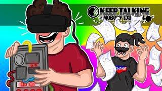 Bomby? TO ŁATWIZNA! CHOCIAŻ W VR... | KEEP TALKING AND NOBODY EXPLODES VR /w Puzonik