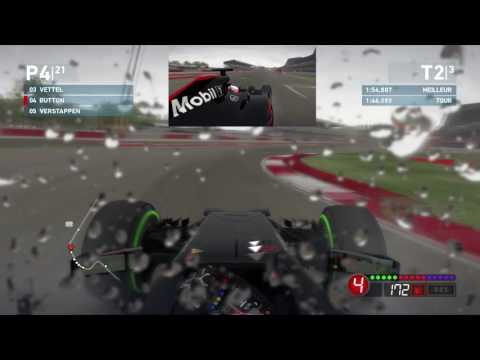 F1 2016 Mod of F1 2014 game PC DVD - Jenson Button on McLaren  Honda at Silverstone
