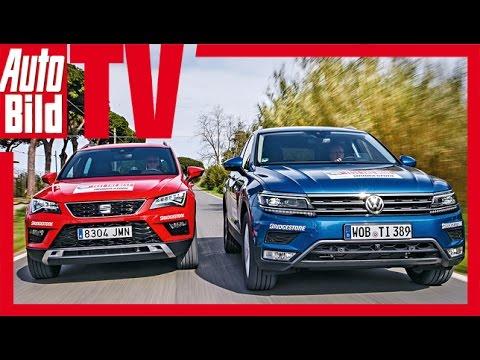 Test VW Tiguan vs. Seat Ateca (2016) - Bruderduell