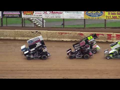 Path Valley Speedway 600s B Main 10-14-17