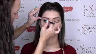 Вечерний макияж. Классическая схема в карандашной технике