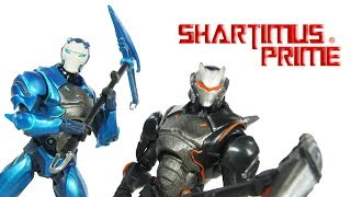 Fortnite Carbide and Omega McFarlane Toys 7 Inch Video Game Action Figure Toy Review