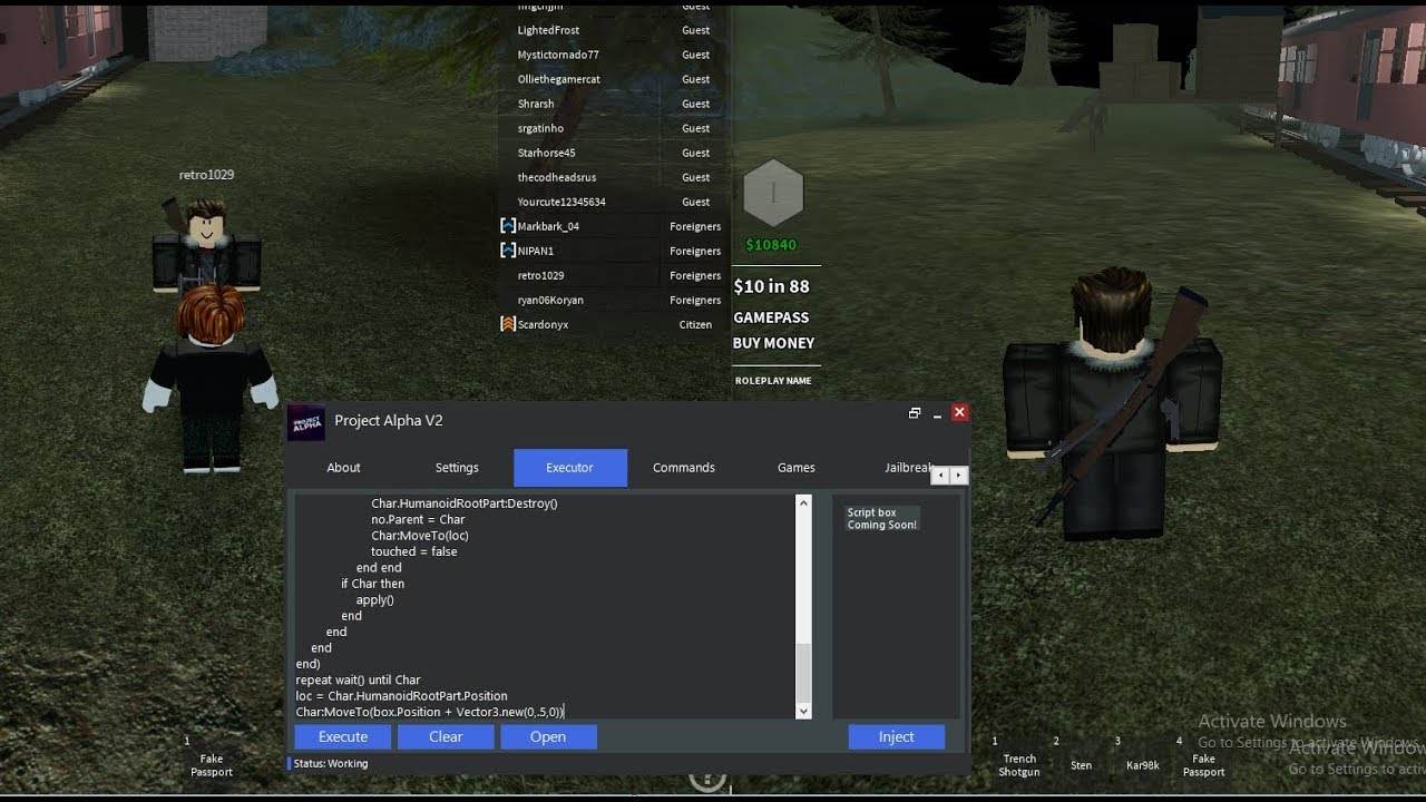 NEW ROBLOX FE INVISIBLE/GOD MODE 2019 SCRIPT! (ACTUALLY WORKS)