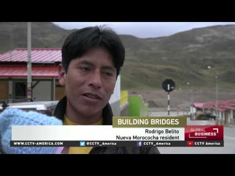 Latest Chinese mine in Peru offers new living standards for residents
