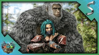 THIS OP GIGANTOPITHECUS WILL WIN US THE GAME! - Ark: Survival of the Fittest [SOTF Solo Gameplay]