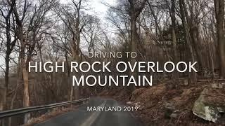 driving around Maryland