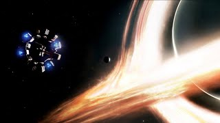 Black Hole Scene - Interstellar