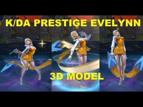 K/DA Prestige Evelynn - 3D Model (closer look)