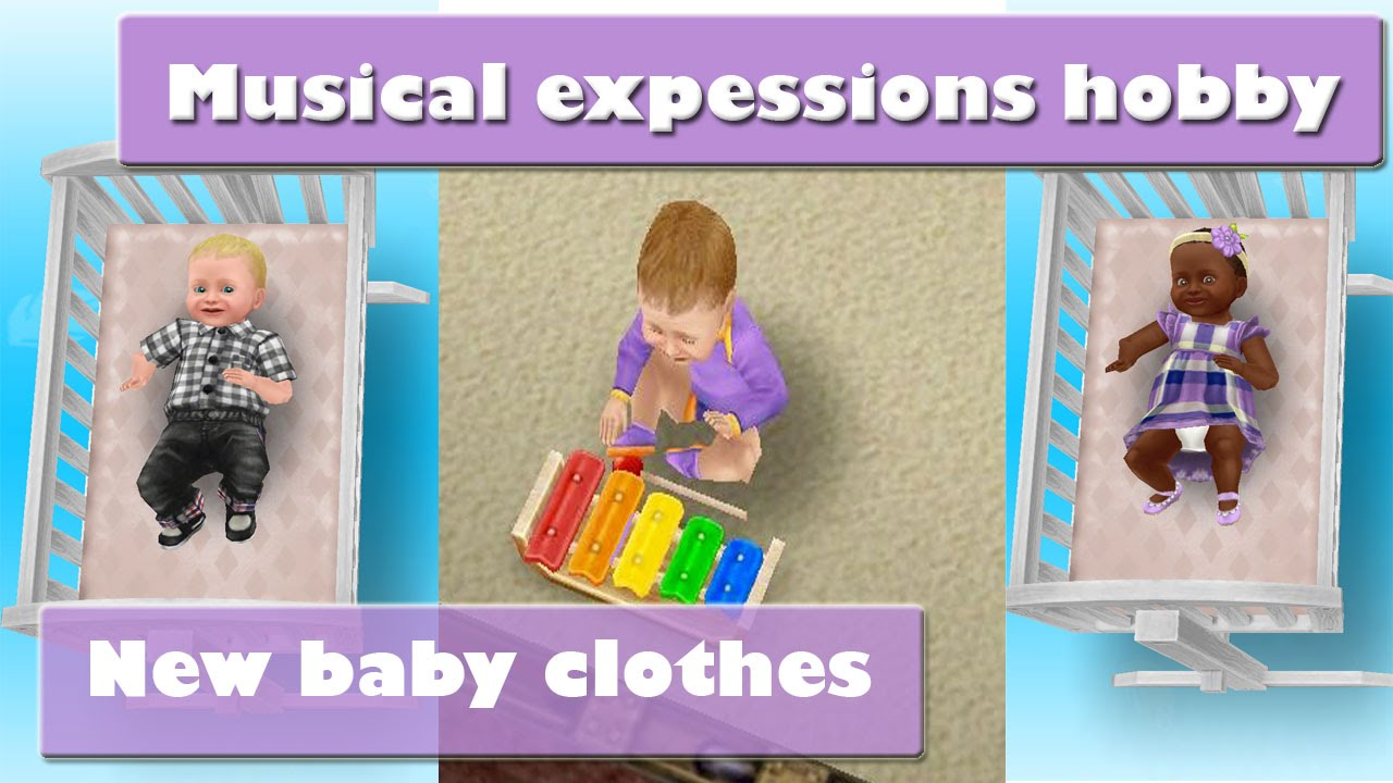 Sims freeplay musical expessions new baby clothes youtube for Baby bathroom needs sims freeplay