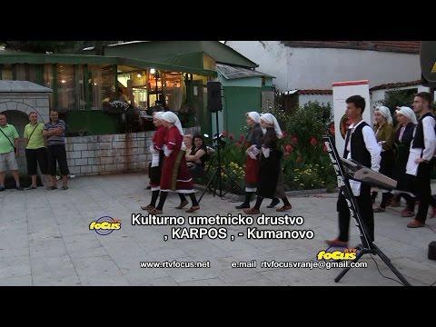 RTV focus VRanje     Udruzenje Makedonaca - KUD ,KARPOS , Kumanovo    23072016