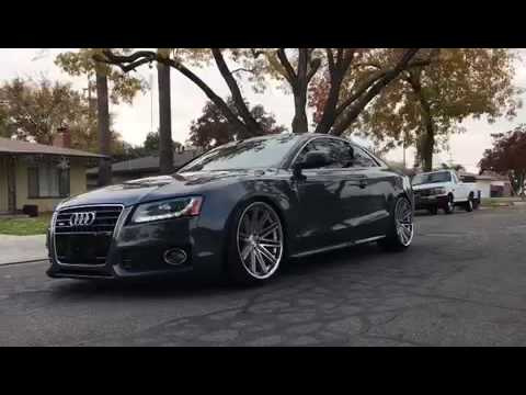 2009 audi a5 s line 3 2l with conceptone wheels youtube. Black Bedroom Furniture Sets. Home Design Ideas