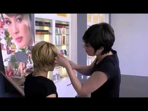 C mo peinar un cabello con mechones definidos http - Como peinar cabello corto ...