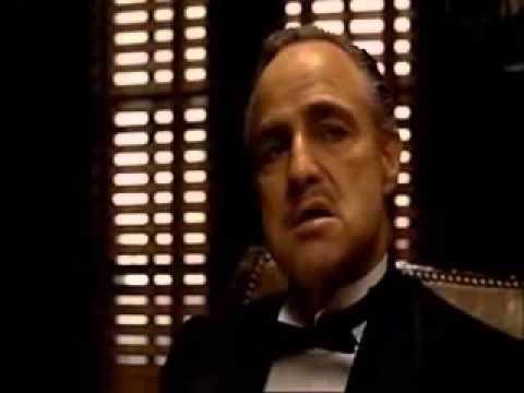 Il Padrino- Scena iniziale ( Vito Corleone )