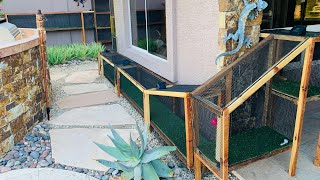 THE BEST CATIO CASTLE EVER!!!