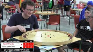 2019 World Crokinole Doubles - Conrad/Reinman v Tracey/Tracey