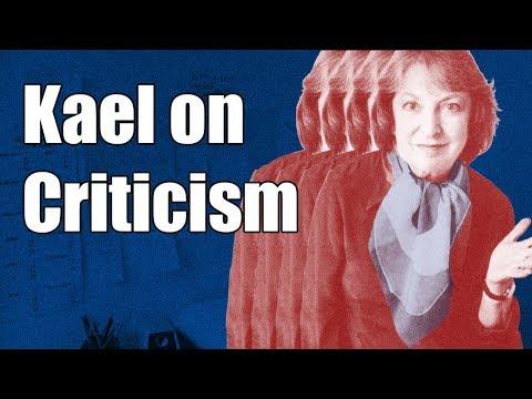 Pauline Kael on Criticism | Deep Focus