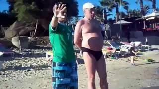 Бассейн и пляж в отеле PalmBeach Hammamed 4 Тунис