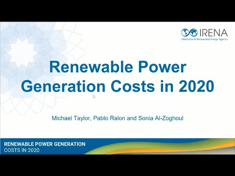 Renewable Power Generation Costs in 2020: Cost Declines and Record Capacity Additions