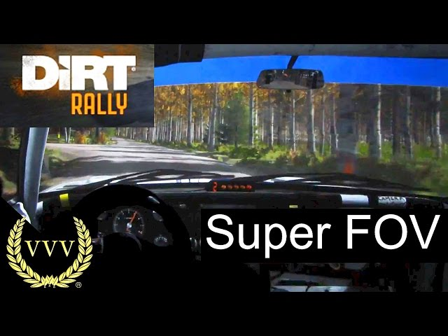Dirt Rally, Super FOV - Finland