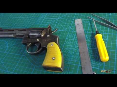 Револьвер пневматический своими руками