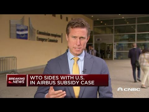WTO sides with US in Airbus subsidy case, allowing US to target $7.5B in EU imports