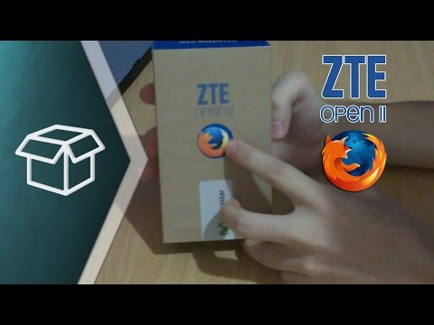 Unboxing & Review ZTE Open 2 (Firefox OS)