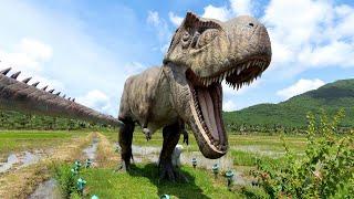 Хайнань Парк динозавров Paddy Field National Park