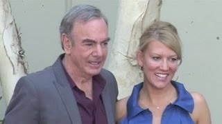 NEIL DIAMOND appears with wife Katie in Hollywood