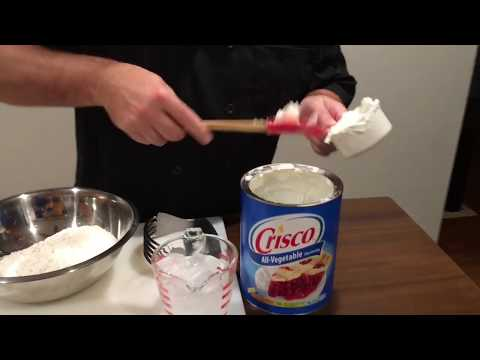 Best pie crust recipe using crisco