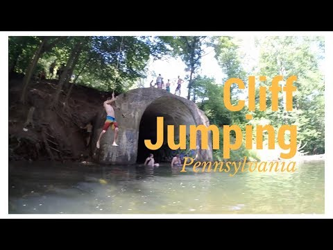 The COVE | Pennsylvania Cliff Jumping - YouTube
